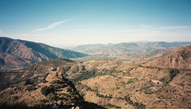 Thursday: Capileira to Almeria