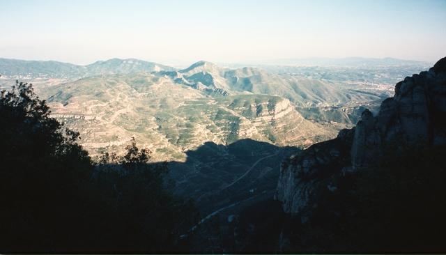Tuesday: Barcelona to Montserrat